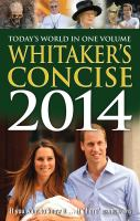 Whitaker's Concise