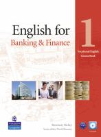 English for Banking & Finance. Level 1