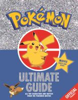 Official Pokemon Ultimate Guide (bind Up)