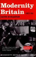 Modernity Britain, 1957-62
