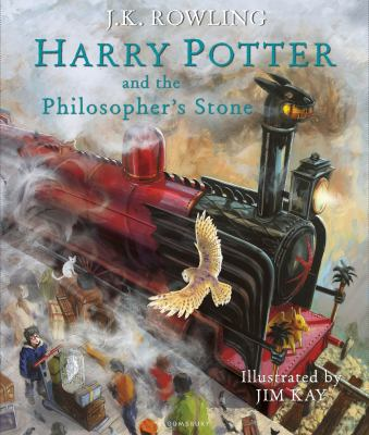 Cover image for Harry Potter and the Philosopher's Stone [new Illustrated Edition]