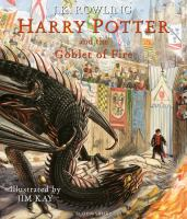 Media Cover for Harry Potter and the Goblet of Fire: Illustrated Edition