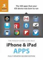 The Rough Guide to the Best IPhone & IPad Apps
