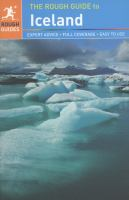 The Rough Guide to Iceland, 2013