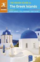 The Rough Guide to the Greek Islands 2015