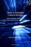 Music as Intangible Cultural Heritage