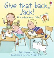 Give That Back, Jack!