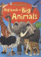 The Usborne Big Book of Big Animals
