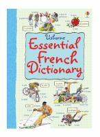 Usborne Essential French Dictionary
