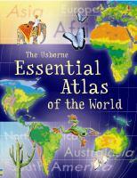 The Usborne Essential Atlas of the World