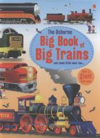 The Usborne Big Book of Big Trains