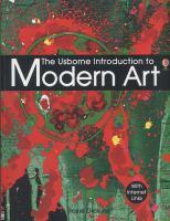 The Usborne Introduction to Modern Art