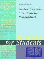 A Study Guide for Sandra Cisneros's the House on Mango Street