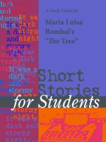 "A Study Guide for Maria Luisa Bombal's ""the Tree"""