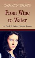 From Wine to Water