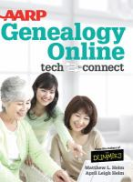 AARP genealogy online : tech to connect