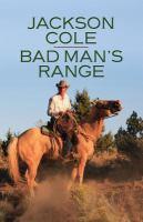 Bad Man's Range [text (large Print)]