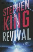 book cover of Revival by Stephen King