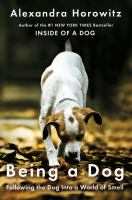 Media Cover for Being A Dog [large print].