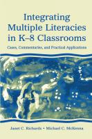 Integrating Multiple Literacies in K-8 Classrooms