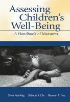 Assessing Children's Well-being