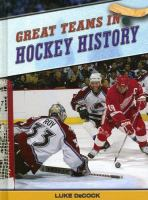 Great Teams in Hockey History
