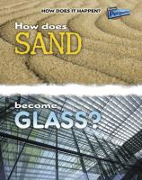 How Does Sand Become Glass?