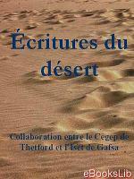 Ecritures du désert