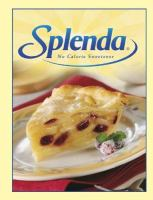 Splenda No Calorie Sweetner