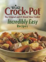 Rival Crock Pot--the Original and #1 Brand Slow Cooker