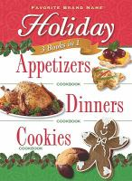 Holiday Appetizers, Dinners, Cookies