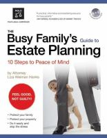 The Busy Family's Guide to Estate Planning