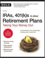 IRAs, 401(k)s, & Other Retirement Plans