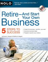 Retire, and Start your Own Business
