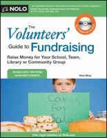 The Volunteers' Guide to Fundraising