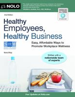 Healthy Employees, Healthy Business
