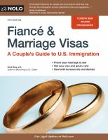 Fiancé and Marriage Visas