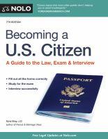 Nolo's Becoming A U.S. Citizen