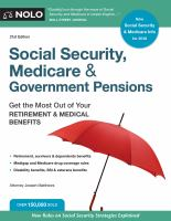 Social Security, Medicare & Government Pensions