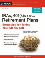 IRAs, 401(k)s & Other Retirement Plans