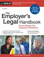The Employer's Legal Handbook