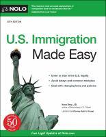 U.S. Immigration Made Easy