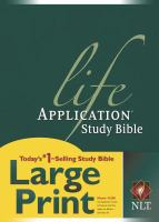 Life Application Study Bible Large Print
