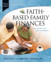 Faith-based Family Finances