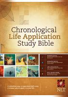 Chronological life application study Bible : New Living Translation.