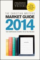 The Christian Writer's Market Guide 2014