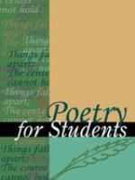 Poetry for Students, Volume 24