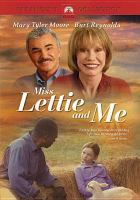 Miss Lettie and Me (DVD)