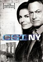 CSI: NY. The final season