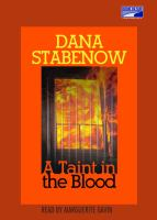 A Taint in the Blood